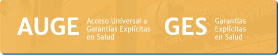 AUGE Acceso Universal a Garantías Explícitas en Salud