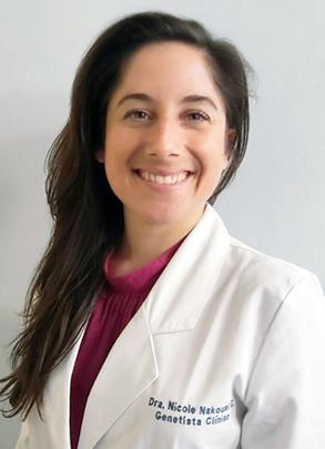 Dra. Nicole Nakousi</br>Genética Clínica