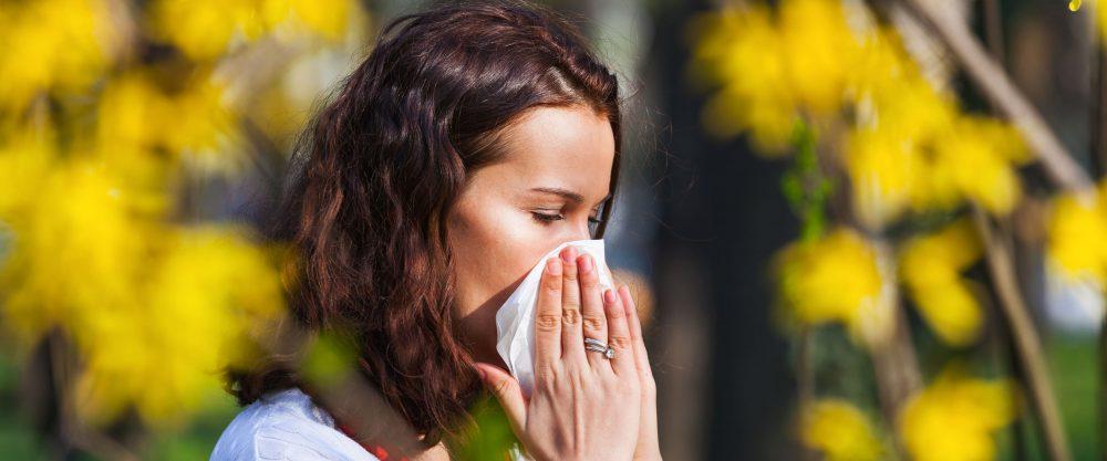 Alergias y primavera
